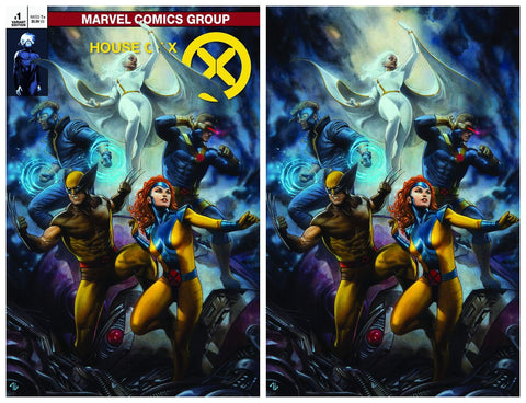 HOUSE OF X #1 ADI GRANOV TRADE DRESS/VIRGIN SET LIMITED TO 400 SETS WITH NUMBERED COA
