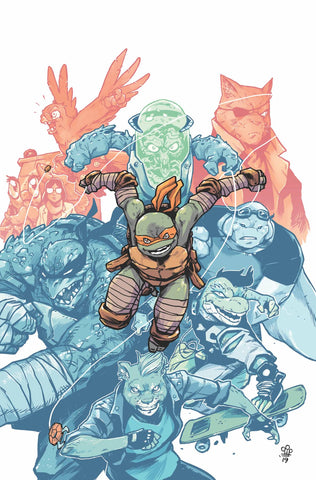 25/09/2019 TMNT ONGOING #98 1:10 MICHAEL DIALYNAS  VARIANT