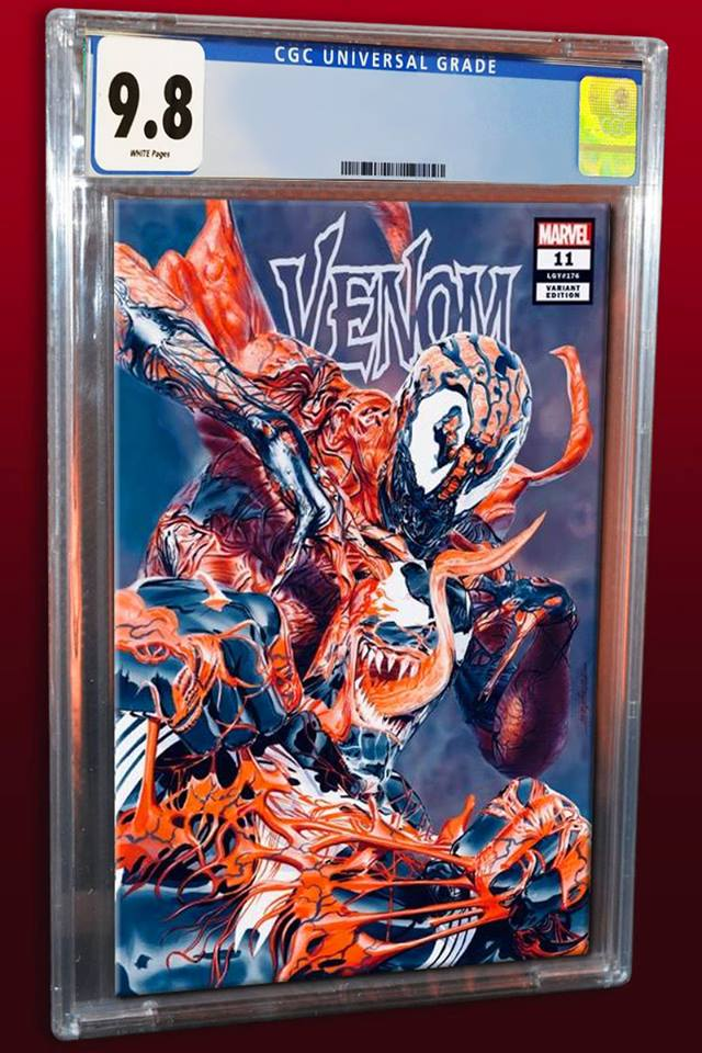 VENOM #11 MIKE MAYHEW VARIANT LIMITED TO 1000 COPIES CGC 9 8 PREORDER