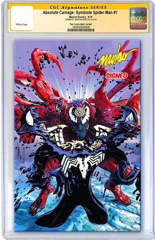 ABSOLUTE CARNAGE SYMBIOTE SPIDER-MAN #1 MIKE MAYHEW ASM #238 HOMAGE VIRGIN VARIANT LIMITED TO 600 CGC SS PREORDER