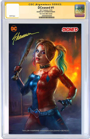 DCEASED #1 SHANNON MAER  MINIMAL TRADE DRESS VARIANT LIMITED TO 1000 CGC SS PREORDER