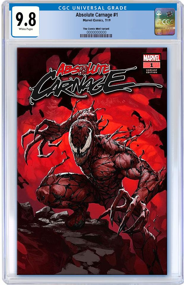 ABSOLUTE CARNAGE #1 SKAN SRISUWAN TRADE DRESS LIMITED TO 3000 CGC 9.8 PREORDER