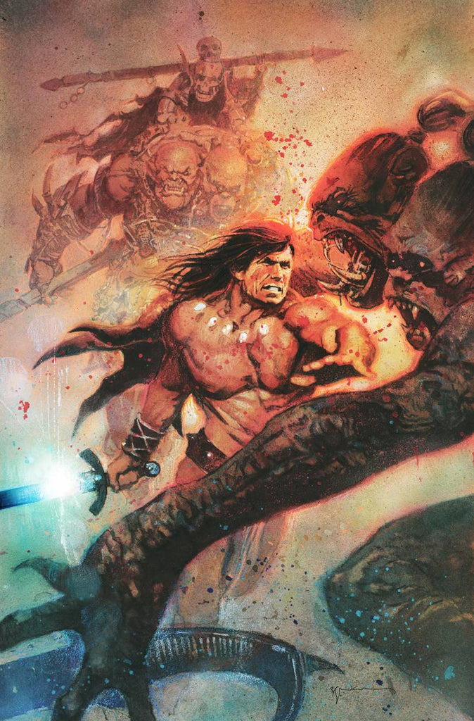 CONAN THE BARBARIAN #1 1:200  BILL SIENKIEWICZ VARIANT