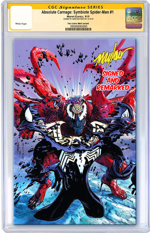 ABSOLUTE CARNAGE SYMBIOTE SPIDER-MAN #1 MIKE MAYHEW ASM #238 HOMAGE VIRGIN VARIANT LIMITED TO 600 CGC REMARK PREORDER