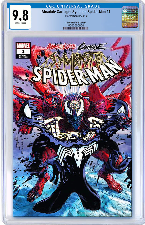 ABSOLUTE CARNAGE SYMBIOTE SPIDER-MAN #1 MIKE MAYHEW ASM #238 HOMAGE TRADE DRESS VARIANT LIMITED TO 1500 CGC 9.8 PREORDER