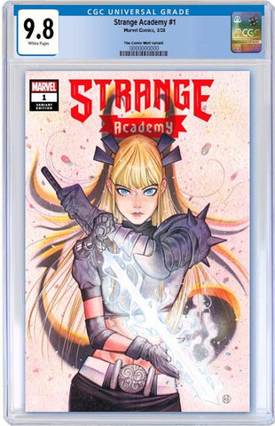 STRANGE ACADEMY #1 PEACH MOMOKO TRADE DRESS VARIANT LIMITED TO 3000 CGC 9.8 PREORDER