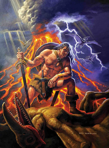 CONAN THE BARBARIAN #1 1:500  GREG HILDEBRANDT VARIANT