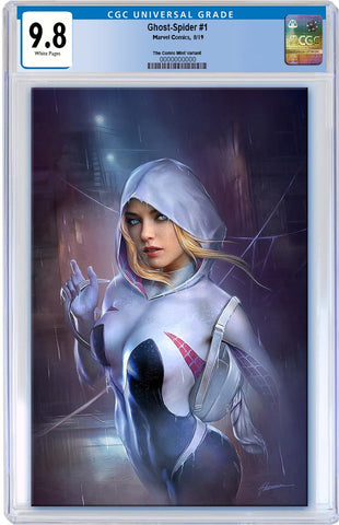 GHOST-SPIDER #1 SHANNON MAER VIRGIN VARIANT LIMITED TO 1000 CGC 9.8 PREORDER