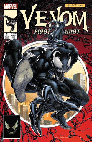 VENOM FIRST HOST #1 CLAYTON CRAIN ASM #300 HOMAGE NYCC TRADE DRESS VARIANT LIMITED TO 3000