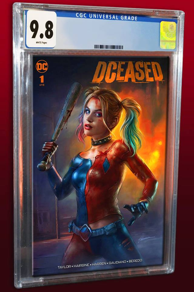 DCEASED #1 SHANNON MAER TRADE DRESS VARIANT LIMITED TO 3000 CGC 9.8 PREORDER