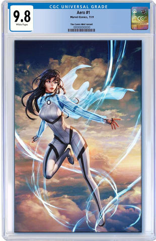 AERO #1 WOO CHUL LEE VIRGIN VARIANT LIMITED TO 600 CGC 9.8 PREORDER