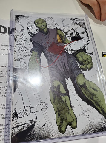 TMNT ONGOING #95 SDCC VARIANT LIMITED TO 200 COPIES
