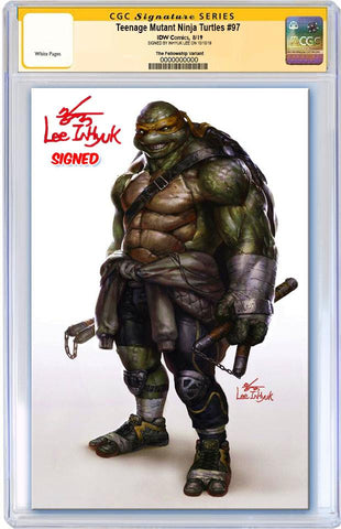 TMNT ONGOING #97 INHYUK LEE VIRGIN VARIANT LIMITED TO 500 CGC SS PREORDER