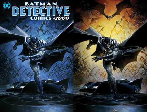 DETECTIVE COMICS #1000 LUCIO PARRILLO TRADE DRESS VARIANT LIMITED TO 2500