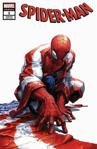 SPIDER-MAN ANNUAL #1 CLAYTON CRAIN TRADE DRESS VARIANT LIMITED TO 1000 WITH NUMBERED COA
