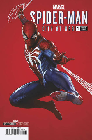 MARVELS SPIDER-MAN CITY AT WAR #1 (OF 6) 1:100 ADI GRANOV VARIANT