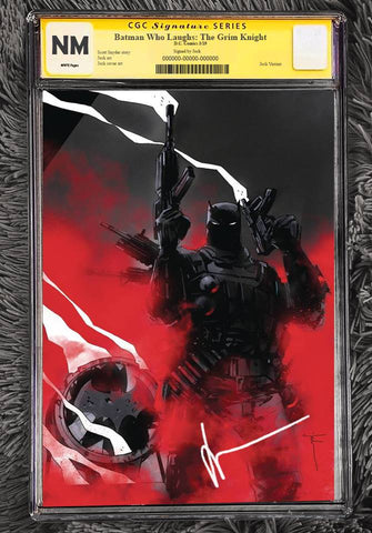 BATMAN WHO LAUGHS THE GRIM KNIGHT #1 CGC SS SIGNED BY JOCK PREORDER