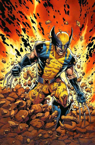 RETURN OF WOLVERINE #1 1:100 CURRENT COSTUME VIRGIN VARIANT