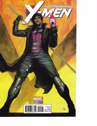ASTONISHING X-MEN #4 1:10 GRANOV VARIANT