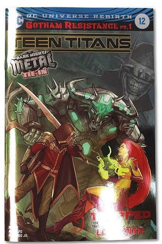 TEEN TITANS #12 SPECIAL FOIL VARIANT LIMITED TO 3000 COPIES WORLDWIDE