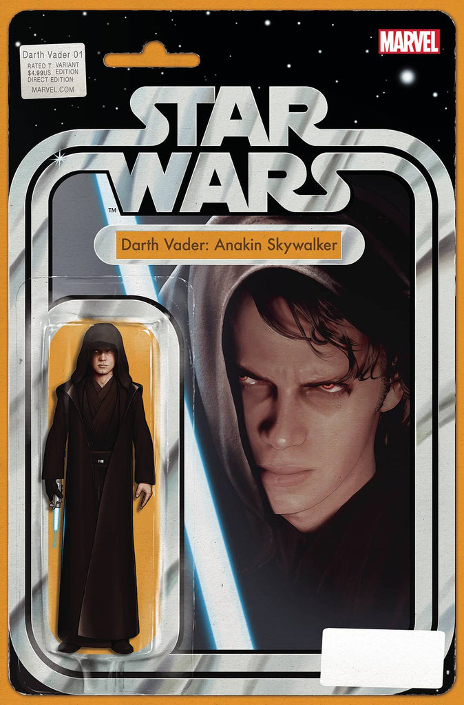 DARTH VADER #1 JTC ANAKIN ACTION FIGURE VARIANT
