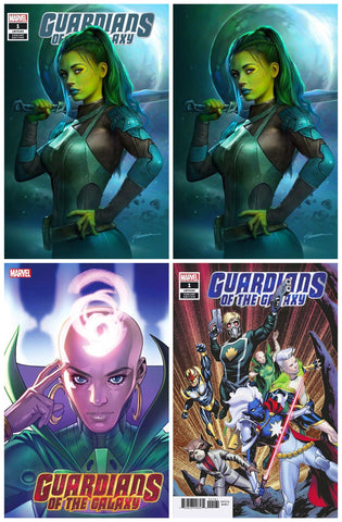 GUARDIANS OF THE GALAXY #1 SHANNON MAER TRADE/VIRGIN VARIANT SET LIMITED TO 1000 SETS + 1:25 & 1:50 RATIO