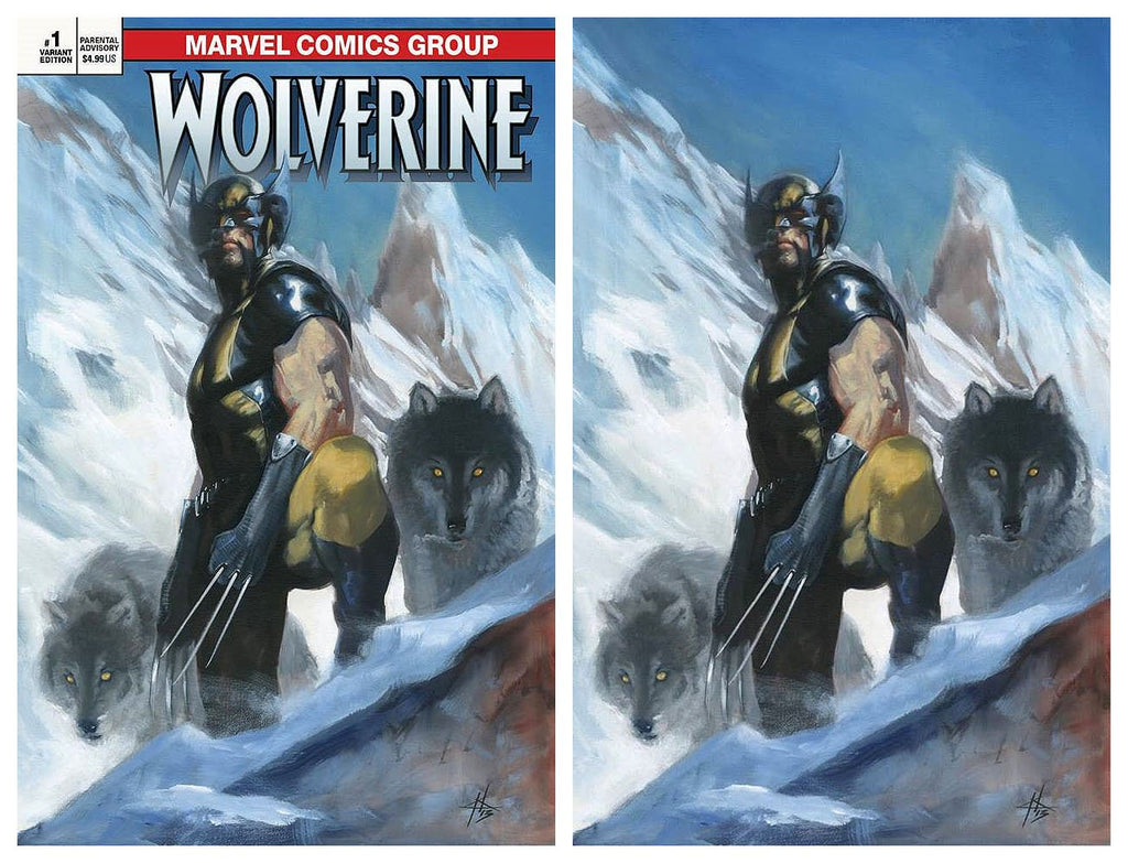 RETURN OF WOLVERINE #1 DELL'OTTO VARIANT LIMITED TO 500 SETS
