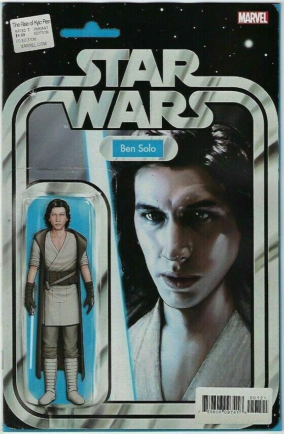 18/12/2019 STAR WARS RISE KYLO REN #1 (OF 4) STAR WARS RISE KYLO REN #1 (OF 4) JTC ACTION FIGURE VARIANT