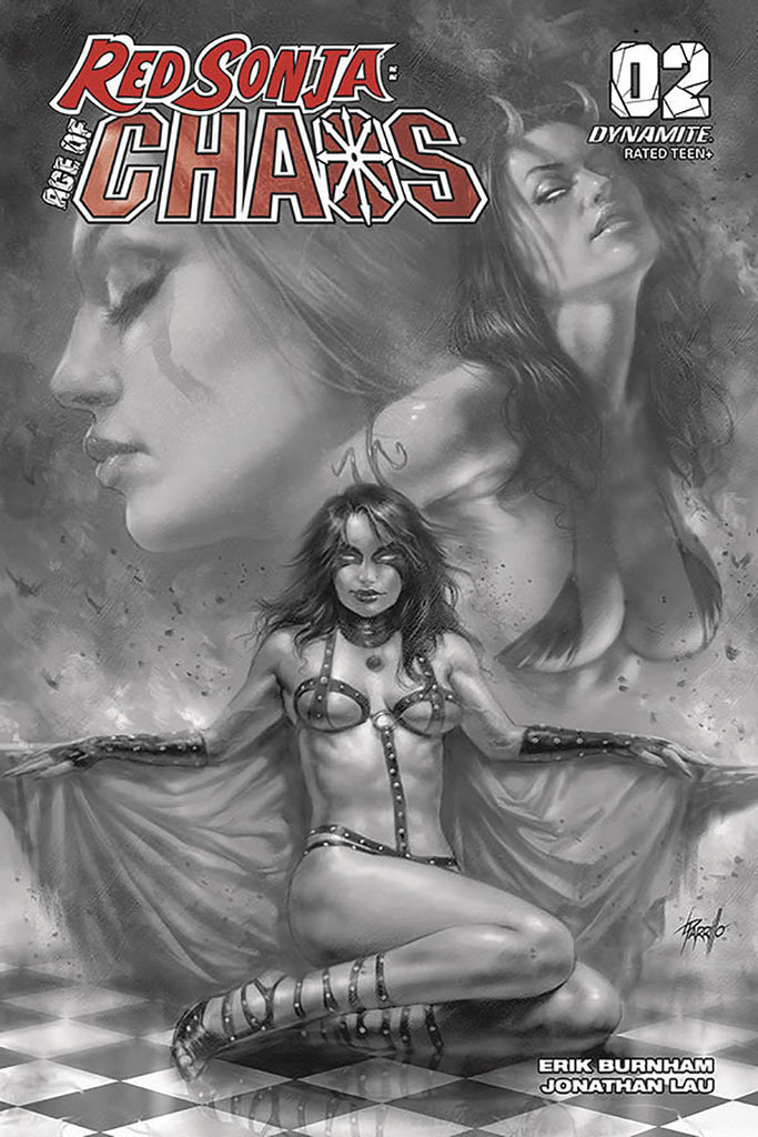 19/02/2020 RED SONJA AGE OF CHAOS #2 1:40 PARRILLO B&W VARIANT