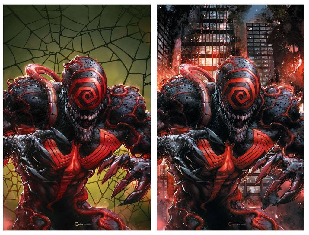 VENOM ANNUAL #1 CLAYTON CRAIN LETHAL PROTECTOR HOMAGE VIRGIN 2 SET VARIANTS LIMITED TO 1000 SETS