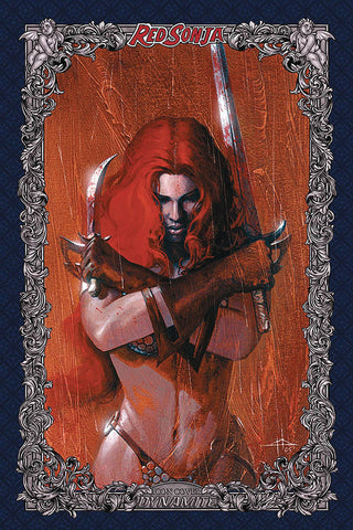 19/02/2020 RED SONJA AGE OF CHAOS #2 1:60 DELL'OTTO ICON VARIANT