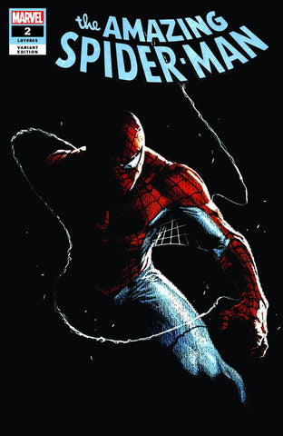 AMAZING SPIDER-MAN #2 GABRIELE DELL'OTTO PAINT ON BLACK VARIANT TRADE DRESS VARIANT