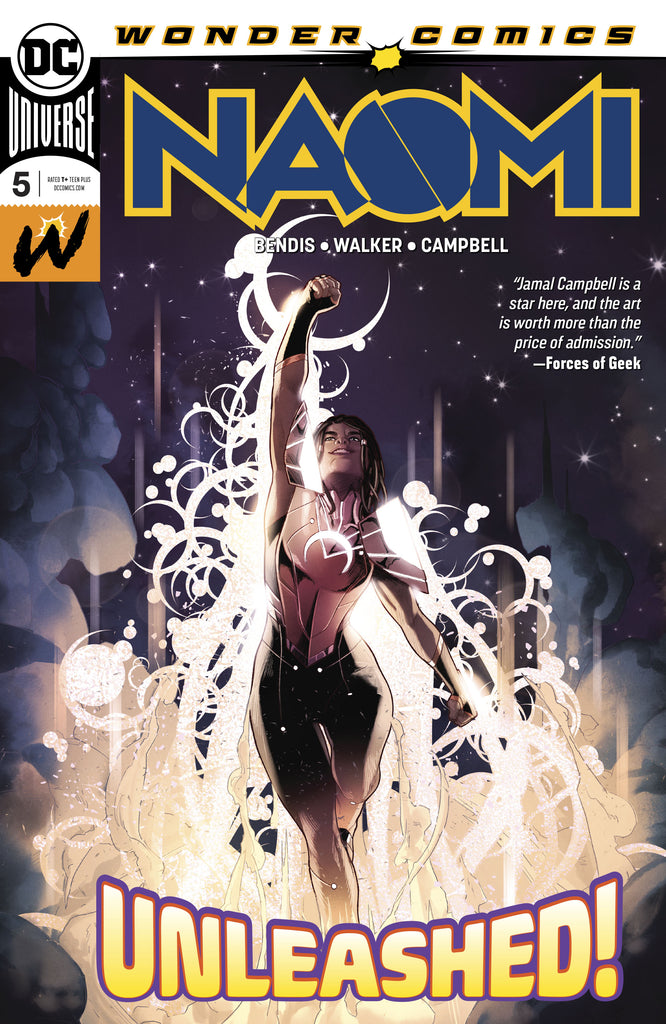 NAOMI #5 - KEY ISSUE, ORIGIN & NEW COSTUME