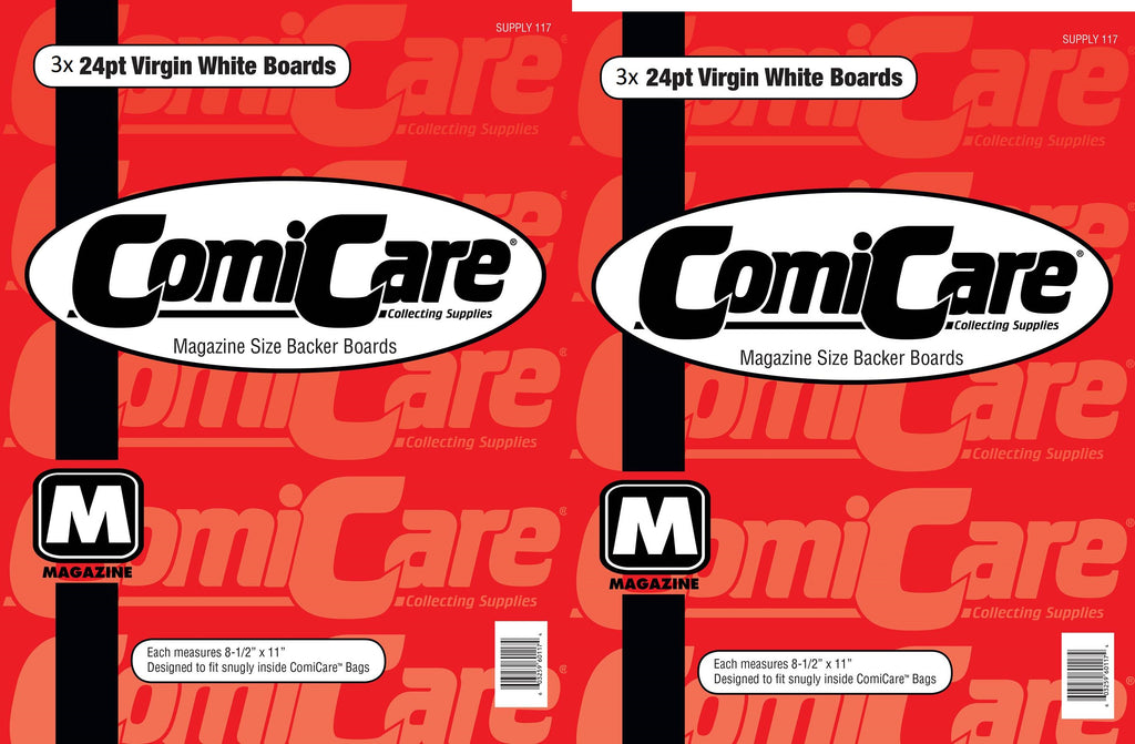 COMICCARE MAGAZINE BAG & BOARDS X3