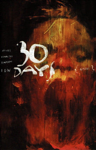 30 DAYS OF NIGHT #1 (OF 6) 1:10 ASHLEY WOOD VARIANT