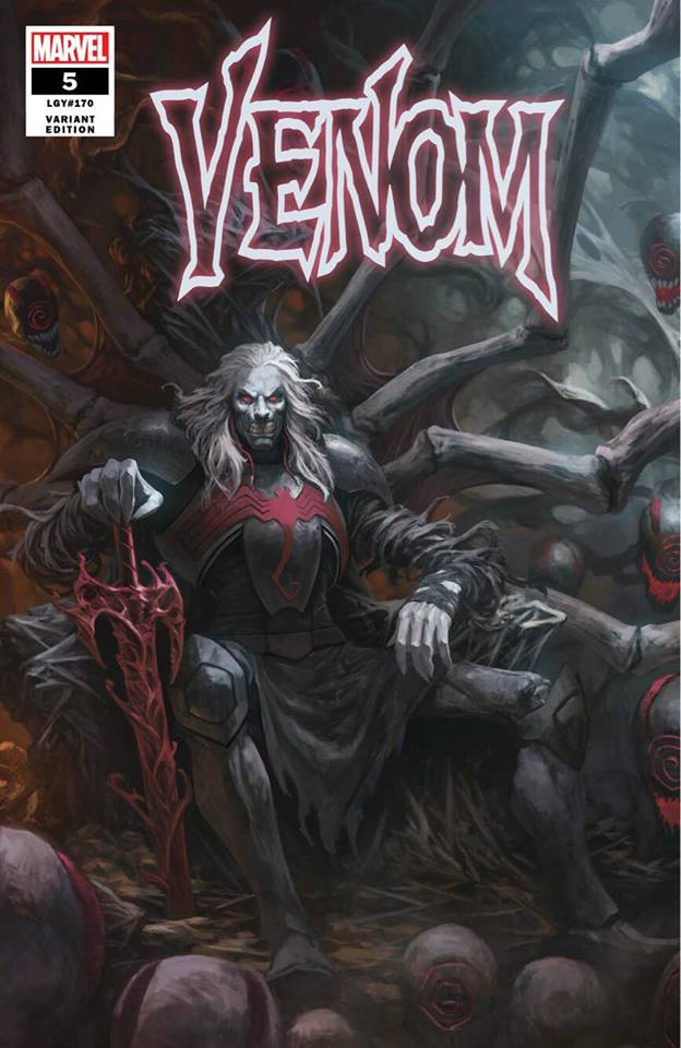 VENOM #5 SKAN SRISUWAN VARIANT '1ST COVER APP OF KNULL' TRADE DRESS LIMITED TO 3000