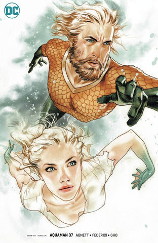 AQUAMAN #37 MIDDLETON VAR ED
