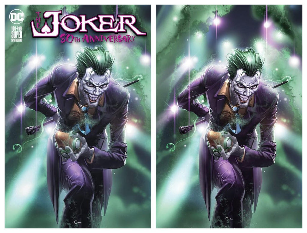 JOKER 80TH ANNIVERSARY SPECIAL CLAYTON CRAIN VARIANT SET LIMITED TO 1000 SETS