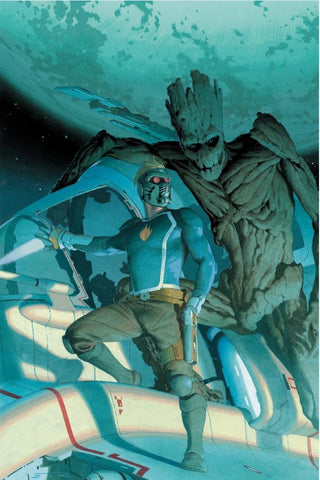 GUARDIANS OF THE GALAXY #1 1:50 RIBIC VARIANT