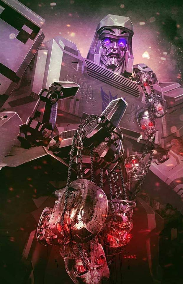 TRANSFORMERS VS TERMINATOR #1 JOHN GIANG EXCLUSIVE VARIANT