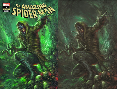 AMAZING SPIDER-MAN #2 LUCIO PARRILLO VARIANT TRADE/VIRGIN VARIANT SET LIMITED TO 1000 SETS
