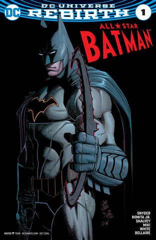 ALL STAR BATMAN #1 REBIRTH