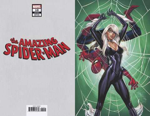 28/11/2018 AMAZING SPIDER-MAN #10 J SCOTT CAMPBELL BLACK CAT VARIANT 1:100 VIRGIN VARIANT
