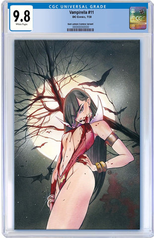 VAMPIRELLA #11 BLOODY VIRGIN LIMITED TO 300 CGC 9.8