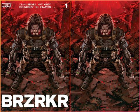 BRZRKR (BERZERKER) #1 KAEL NGU TRADE/VIRGIN VARIANT SET LTD TO 666 SETS