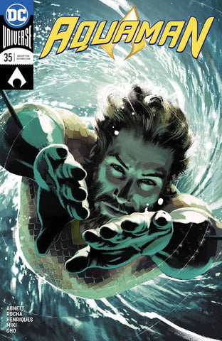 AQUAMAN #35 MIDDLETON VAR ED