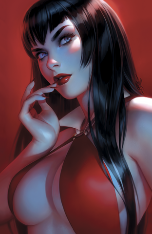 VAMPIRELLA #7 WARREN LOUW EXCLUSIVE VIRGIN VARIANT LIMITED TO 500