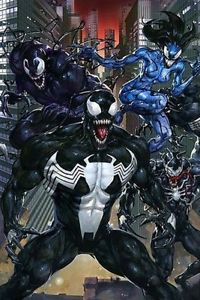 VENOMVERSE #3 CLAYTON CRAIN VIRGIN VARIANT LIMITED TO 600