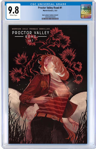 PROCTOR VALLEY ROAD #1 QISTINA KHALIDAH RELEASE DAY VARIANT LIMITED TO 1000 CGC 9.8 PREORDER