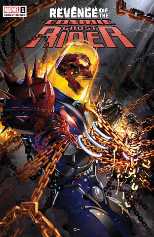 REVENGE OF COSMIC GHOST RIDER #1 CLAYTON CRAIN TRADE DRESS VARIANT LIMITED TO 2000 WITH NUMBERED COA